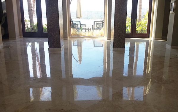 Travertine Restoration San Diego