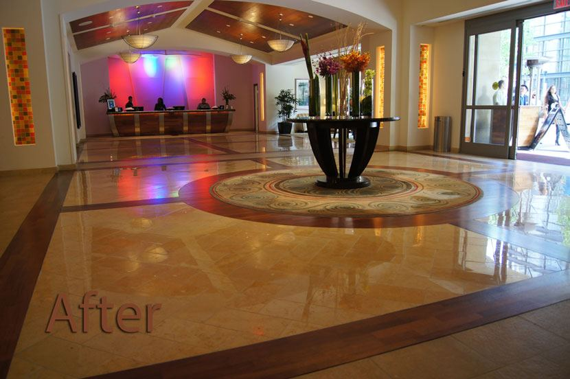 Marriott Stone Restoration San Diego