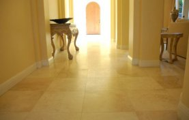 Removing Topical Sealer on Travertine