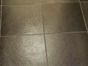 slate floor stripped cleaned sealed