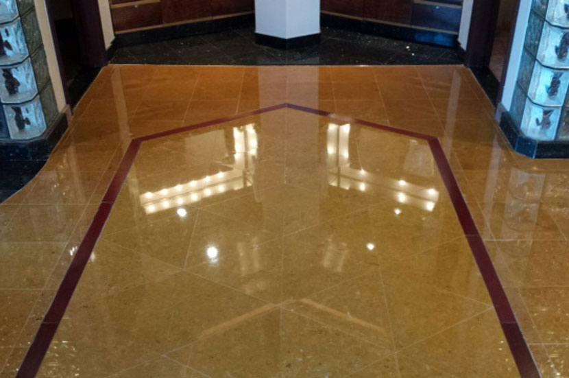 limestone floor polishing