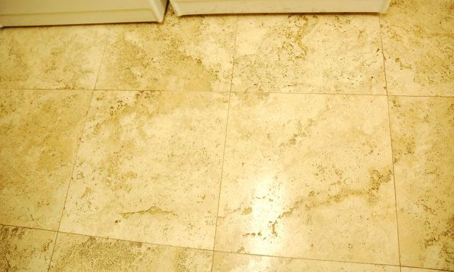 travertine restored to like new