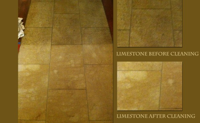 limestone-before-and-after-cleaning
