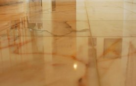 Restoring 30-Year-Old Marble Floor