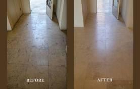 Travertine Floor Repair and Restoration