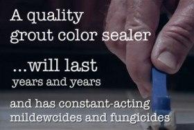 Advantages of Grout Color Sealing