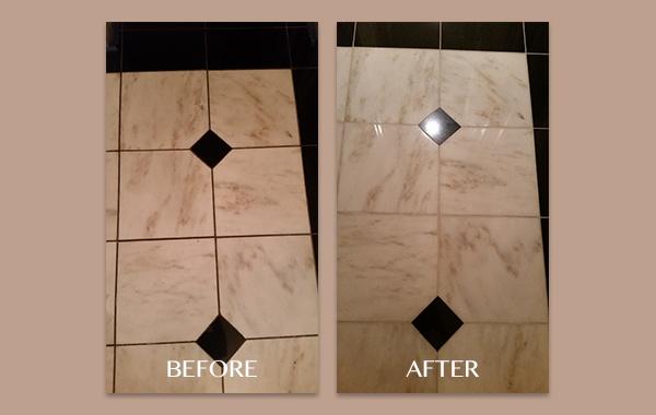 Marble and Granite Floor Polishing