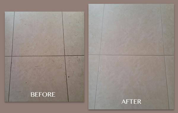 Porcelain Tile and Grout Cleaning