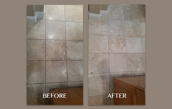 Repair Acid-Damaged Travertine