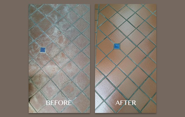 Quarry Tile Restoration