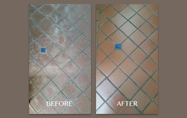 Quarry Tile Restoration