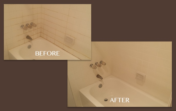 Shower Grout and Caulk Replacement