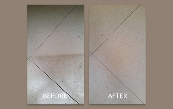 Limestone With Rug Lines Removed