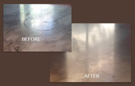 White Marble Etch Removal