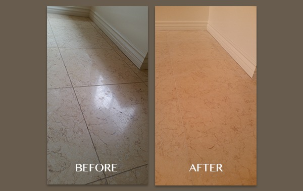 Replacing Grout on Marble Floor