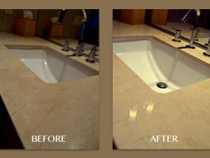 Marble Countertop Polishing