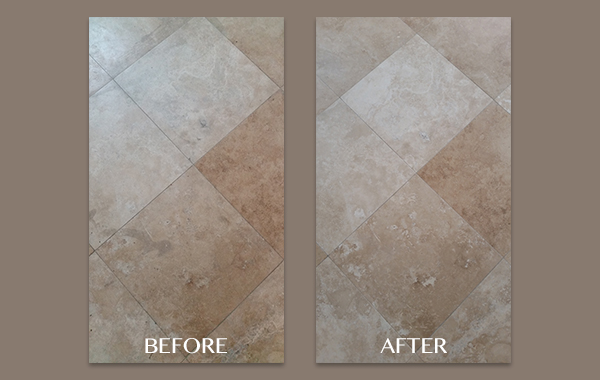 Poway CA Travertine Restoration