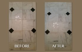 Old Town Marble Grout Stains