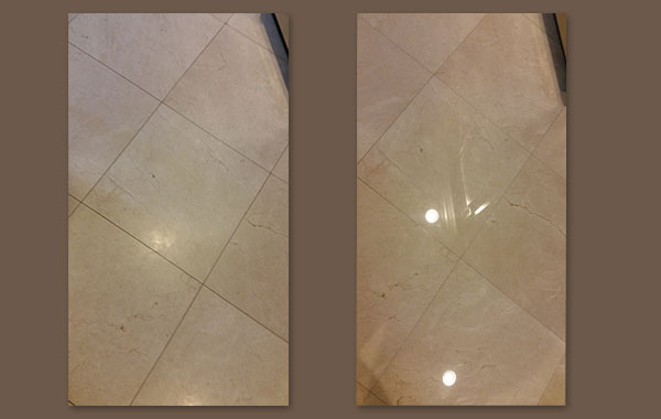 Marble Floors in Need of Refinishing