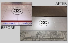 Marble Refinishing for Retail Store