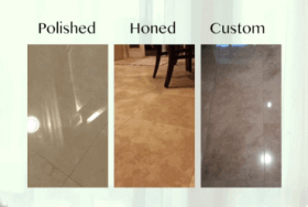 Choosing a Finish for Your Stone