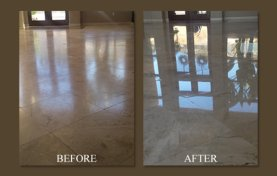 One of Our Favorite Travertine Jobs