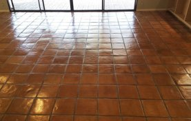 Mexican Pavers a.k.a. Saltillo Cleaned