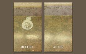 Limestone Countertop Etch Removal
