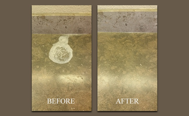 Limestone Etch Removal in Poway, CA