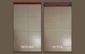Epoxy Stain Does Wonders for Grout