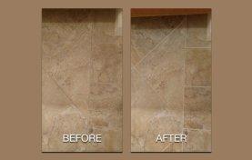 Porcelain Tile Floor Cleaned, Sealed