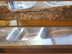 Granite Water Damage San Diego