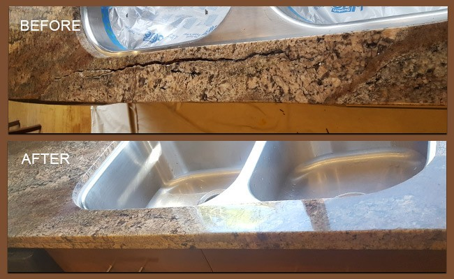 Granite Water Damage San Diego