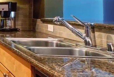 Granite countertop sink repair
