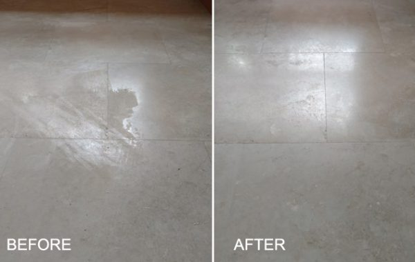 Etched Travertine Gets New Finish