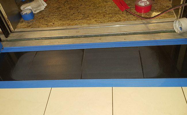 Coronado Black Granite Elevator Honing and Polishing