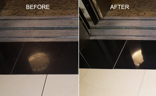 Before and After Granite