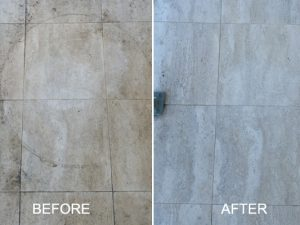 Limestone Before and After