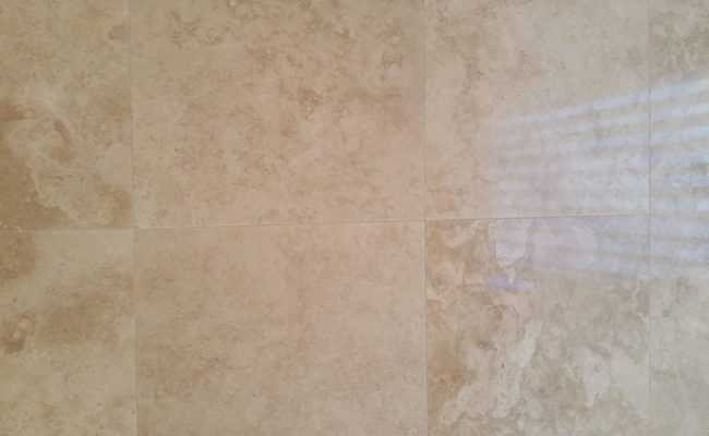 Fresh, Clean Grout Lines