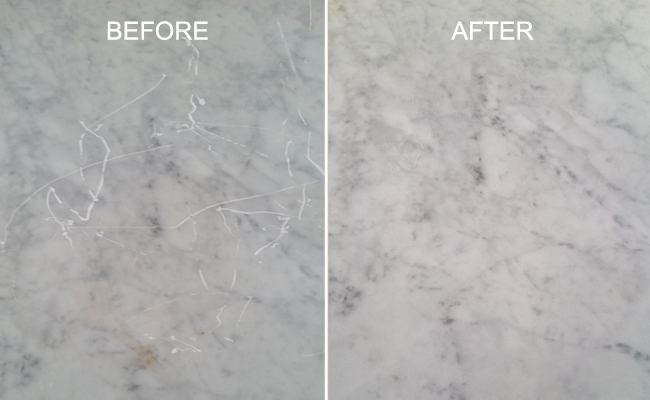 Marble Scratch Removal Services