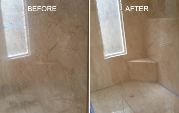 Polished Marble Etches Removed