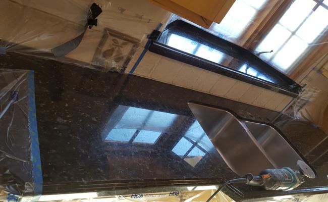Granite Countertop Restoration