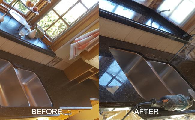 Granite Countertop Honing and Polishing Services