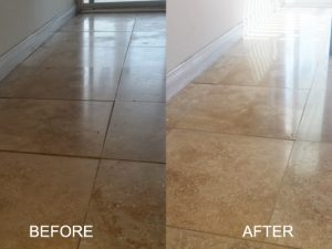 Professional Travertine Honing