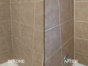 Porcelain Shower Restoration