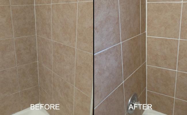 Porcelain Shower Restoration