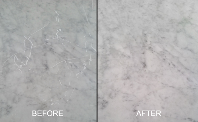 Marble Table Scratch Removal