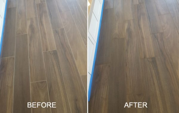 Grout Lines Color Sealed